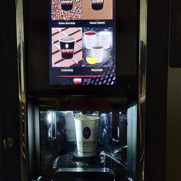Automaty  dogorących napojów