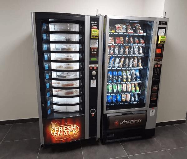 automaty do przekąsek i napojów - Zabudowy i Realizacje