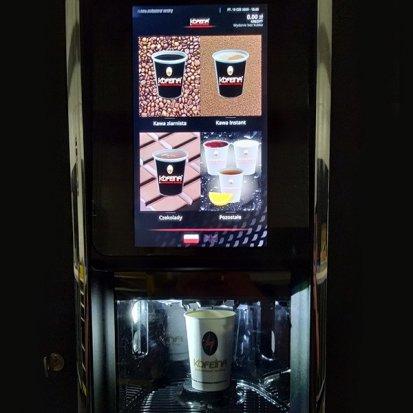 napoje z automatu