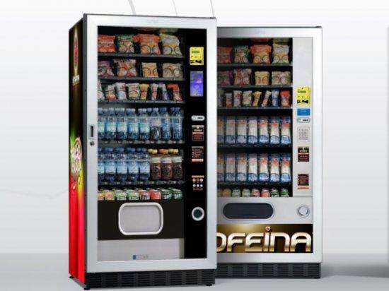 automaty do przekąsek i napojów - FAS