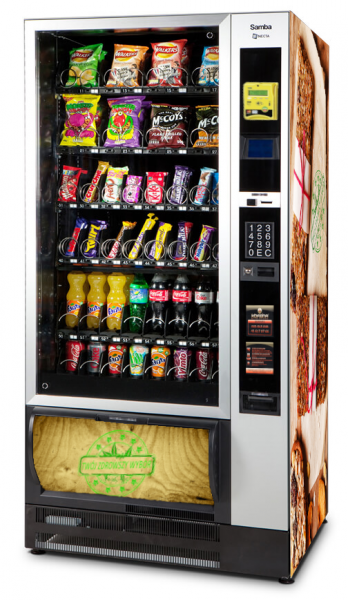 automat do przekąsek i napojów