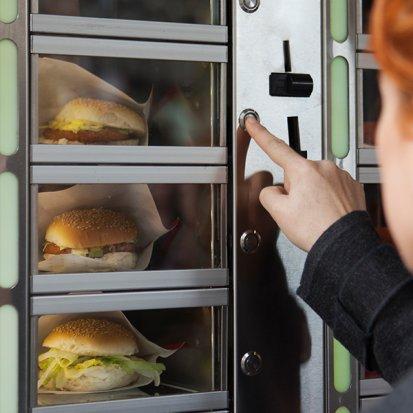 Automat z przekąskami